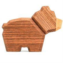 FableWood - Magneettinen puulelu, Pieni karhu