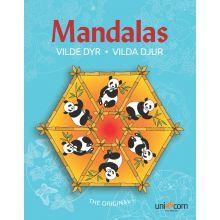 Mandala Värityskirja - Eläimet WWF
