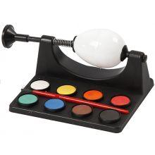 Maalit munien maalaukseen, 8 väriä + pensseli