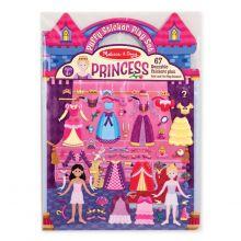 Aktiviteettikirja tarroilla - Prinsessat