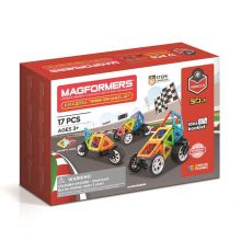 Magformers Hienot autot - 17 osaa
