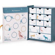 Laatikosto pienille esineille, Viidakon eläimet