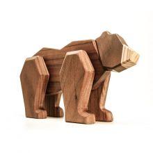 FableWood - Magneettinen puulelu, Karhu