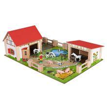 Maatila eläimillä ja tarvikkeilla, 25 osaa