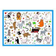 Ruokailualusta - Eläimet