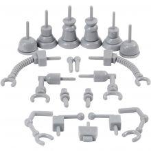Koristelutarvikkeet - Robotin osat, 19 kpl
