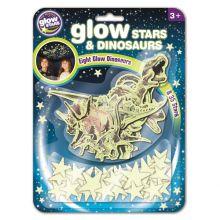 Dinosaurukset & tähdet, Pimeässä loistavat, 43 kpl