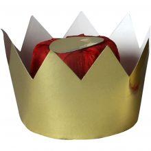 Kuningatarkruunu kartongista