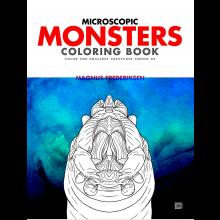 Värityskirja - Mikroskooppiset hirviöt