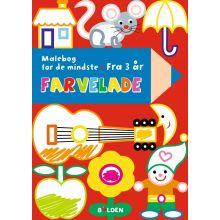 Pikkulasten värityskirja (yli 3-vuotiaille)