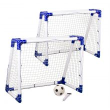 Jalkapallomaali Junior 2 kpl. - 110 x 90 x 60 cm.