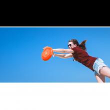Frisbee, halkaisija 26,5 cm, 1 klp, monta väriä