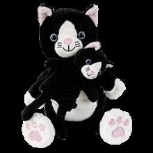 Käsi- & Sorminukke - Kissaemo ja kissanpennut