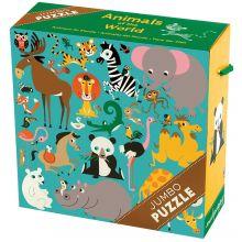 Valtava palapeli - Maailman eläimet, 25 palaa