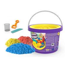 Kinetic Sand ämpärissä 2,7 kg - Sis. työkalut