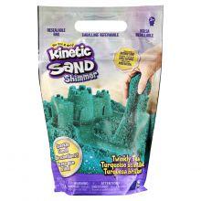 Kinetic Sand – Turkoosi glitterillä, 900 g