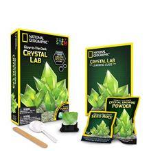 Tee-Itse Pimeässä loistavia kristalleja, Vihreä