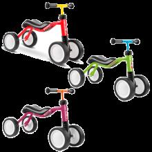 Potkupyörä | Työntöpyörä | PUKY Wutsch | Mini