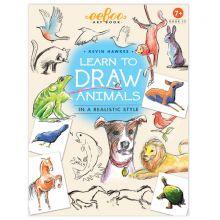 Opi piirtämään - Eläimet