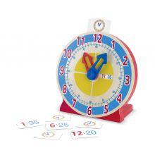 Opi lukemaan kelloa - Kello ja oppimiskortit