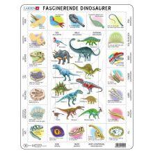 Larsen Palapeli - Opi dinosauruksista, 35 palaa
