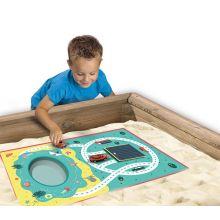 Leikkimatto hiekkalaatikolle - Rannalta kotiin