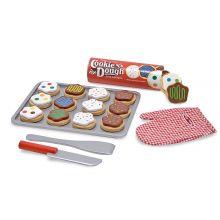 Leikkiruoka - leivontasetti pikkuleivillä