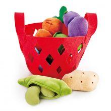 Leikkiruokaa plyysistä - Vihannekset