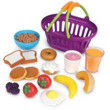 Leikkiruoka - Ostoskori aamiaisella