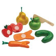 Leikkiruoka - Kierot kasvikset ja hedelmät