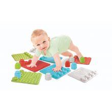 Leikkisetti tunnusteltavilla matoilla, vauvoille