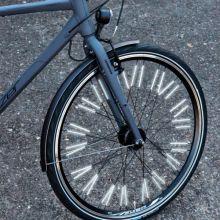 Potkupyörätarvikkeet - Pinnaheijastimet renkaisiin