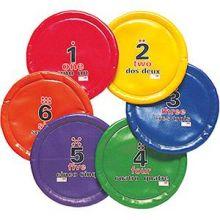Pehmeä frisbee, 6 kpl setti