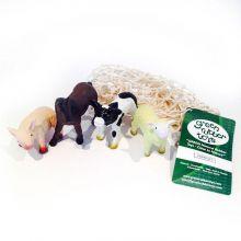 Figuurit luonnonkumista - Maatilan eläimet