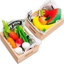 Leikkiruoka - hedelmä- tai vihanneslaatikko