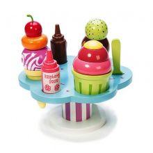 Leikkiruoka - Jäätelöbuffet