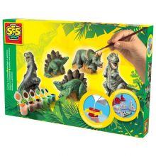 Maalaa & Muotoile - Dinosaurukset