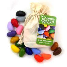 Väriliidut - Crayon Rocks 16 kpl kangaspussissa