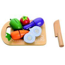 Leikkiruoka - Leikkuulauta ja varusteet