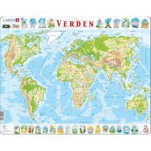 Larsen-palapeli - Maailmankartta