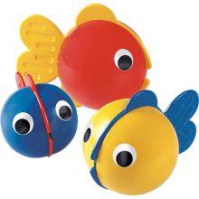 Kylpylelut - 3 pientä kalaa