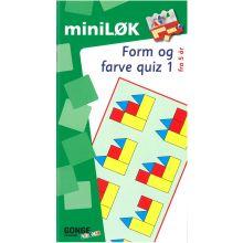 mini-LØK - Muoto- ja väritesti 1