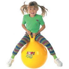 Pomppupallo 45cm keltainen