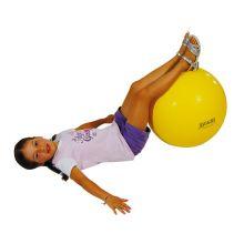 Jumppapallo - Keltainen, 45 cm