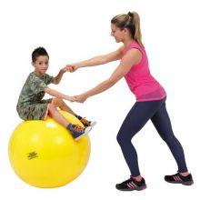 Jumppapallo - Keltainen, 75 cm