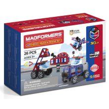 Magformers 26 kpl - Poliisi ja palokunta