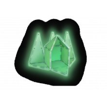 Magna-Tiles | Glow in the dark 16 kpl