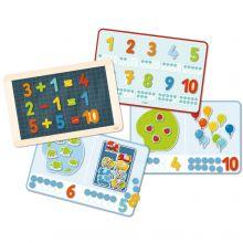 Magneettinen leikkisetti - Opi numerot ja määrät
