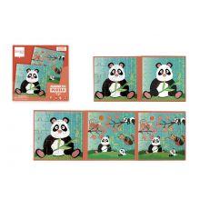 Magneettinen palapeli – Panda