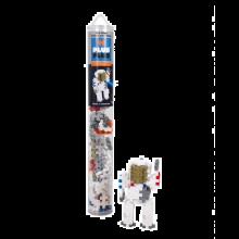 Plus Plus paloja putkessa - Astronautti, 100 palaa